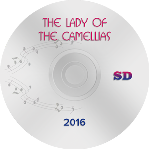 The Lady of the Camellias 2015, Moscow SD (DVD)